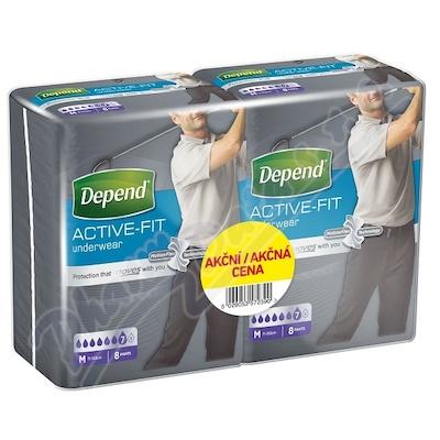 Depend Active-Fit inkon.kalh.M vel.M Duopack 2x8ks