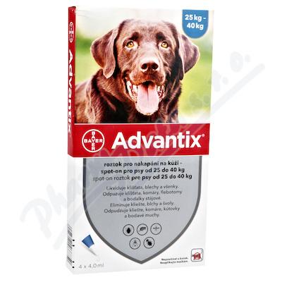 Advantix pro psy 25-40kg spot-on 4x4ml
