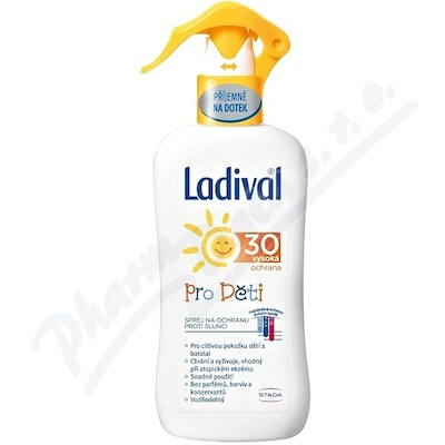 LADIVAL Děti OF30 SPR 200ml