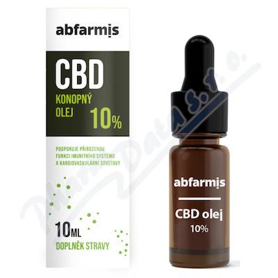 Abfarmis CBD olej 10% 10ml