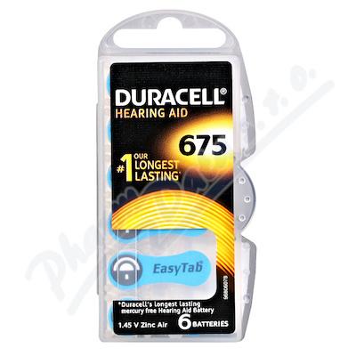 Duracell DA675 EasyTab baterie do naslouchadel 6ks