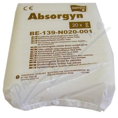 Absorgyn porodnické vložky 20ks