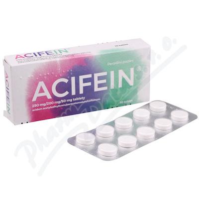 Acifein 250mg/200mg/50mg tbl.nob.10