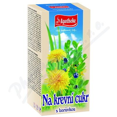 Apotheke Na krevní cukr (Diabetický) čaj 20x1.5g